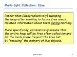 mark split collection idea
