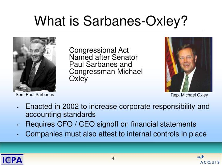 article review the sarbanes oxley act The sarbanes-oxley act, or sarbox is subject to scrutiny the regulatory powers over every public company in america is by the senior officials of the pcaob the board members receive funding by collection of taxes and fees from the public companies by the size of the company's assets.