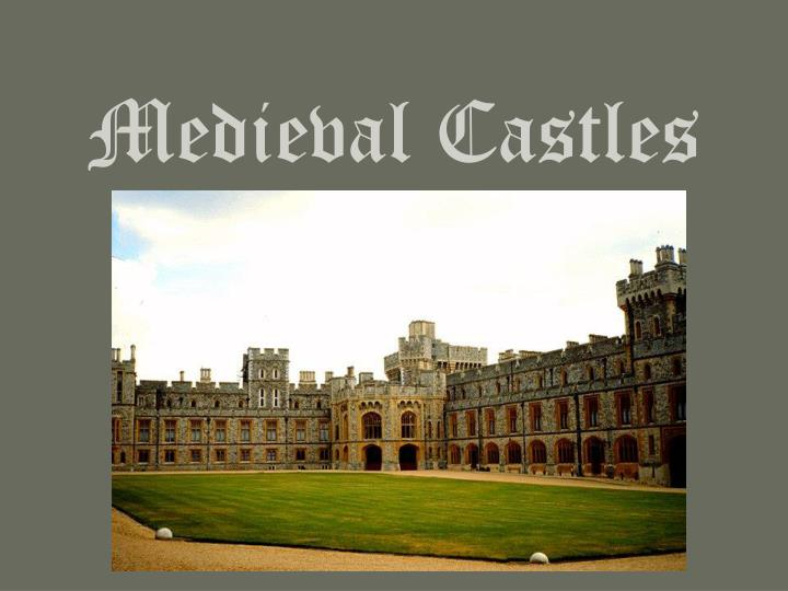 a look at the importance of castles during the medieval times Outside a medieval castle draw out a plan for your own castle based on castles from the middle ages go one step further and build your own castle.