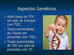 aspectos gen ticos