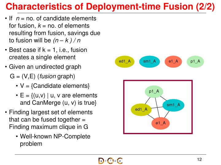 Characteristics of Deployment-time