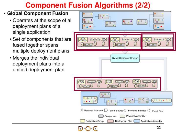 Component Fusion Algorithms (2/2)