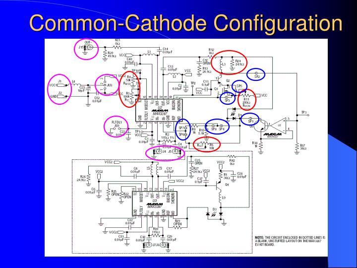 Common-Cathode Configuration