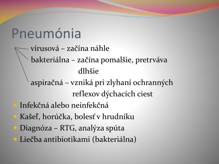 Pneumónia