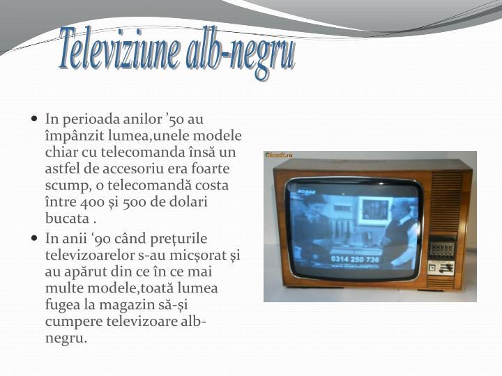 Televiziune alb-negru