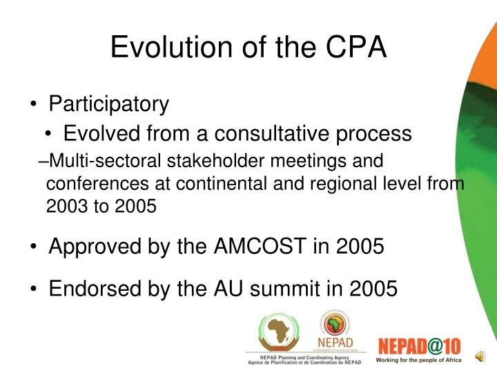Evolution of the cpa1