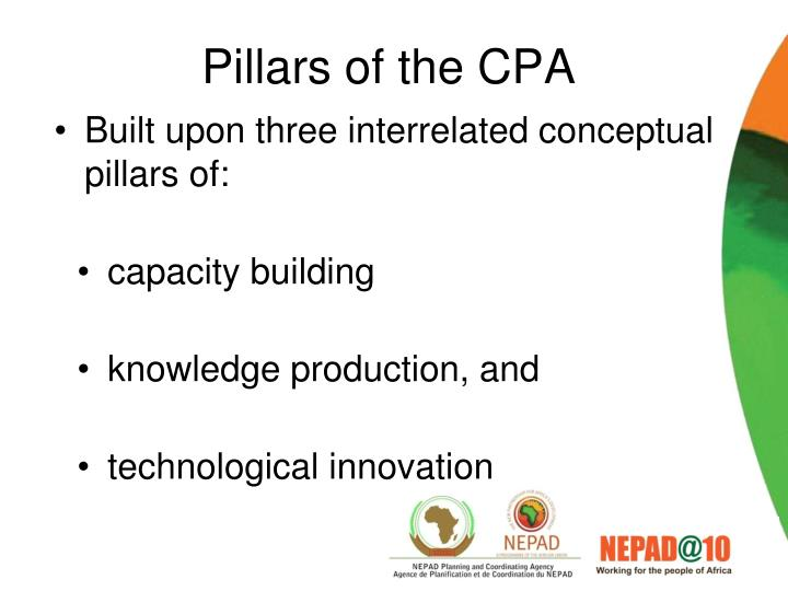Pillars of the CPA