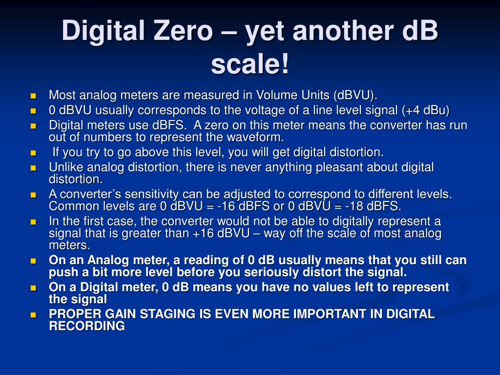 """PPT - Digital Audio Basics """"Any signal can be completely ..."""