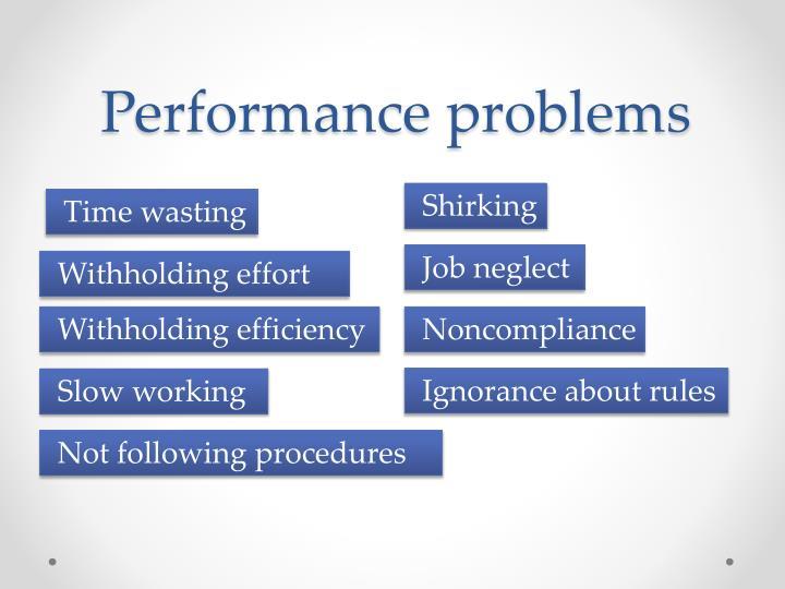 Performance problems