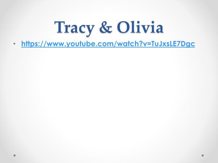 Tracy olivia