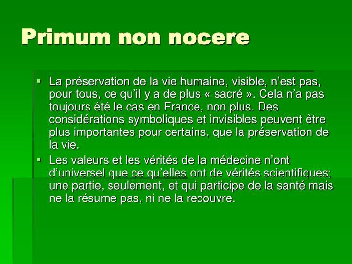 Primum non nocere