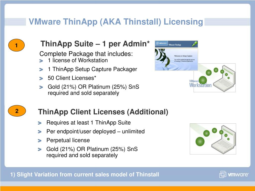 PPT - Application Virtualization with VMware ThinApp