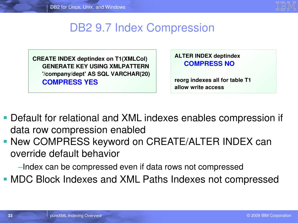 PPT - DB2 for Linux, Unix, and Windows PowerPoint