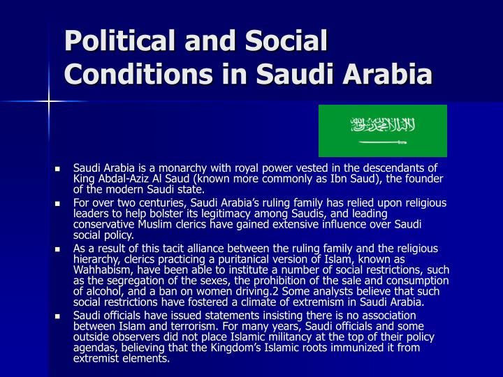 Political and Social Conditions in Saudi Arabia