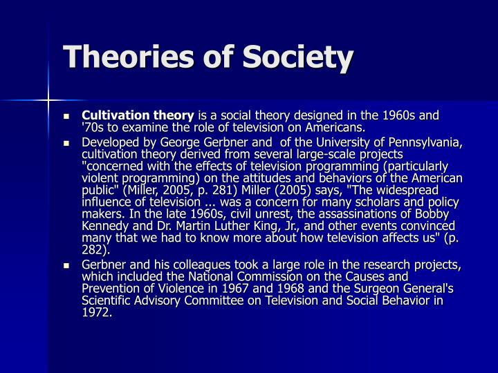 Theories of Society