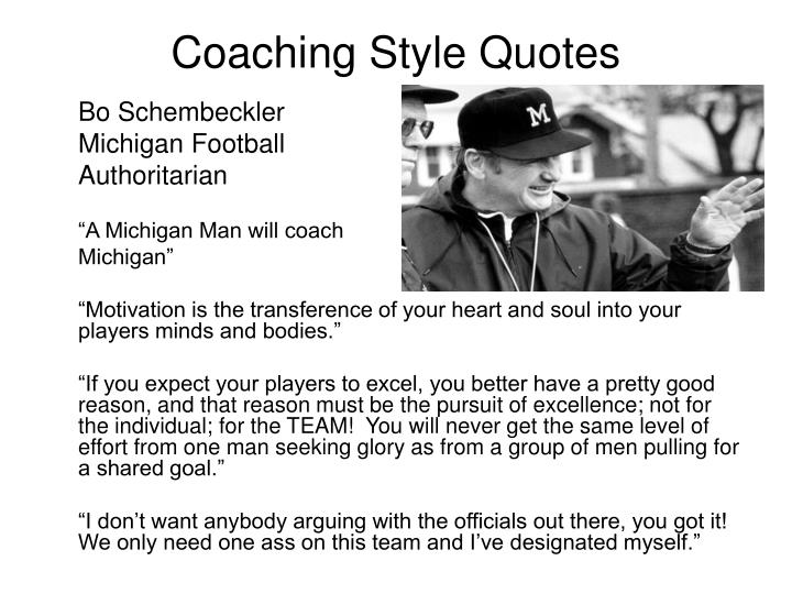 Coaching Style Quotes