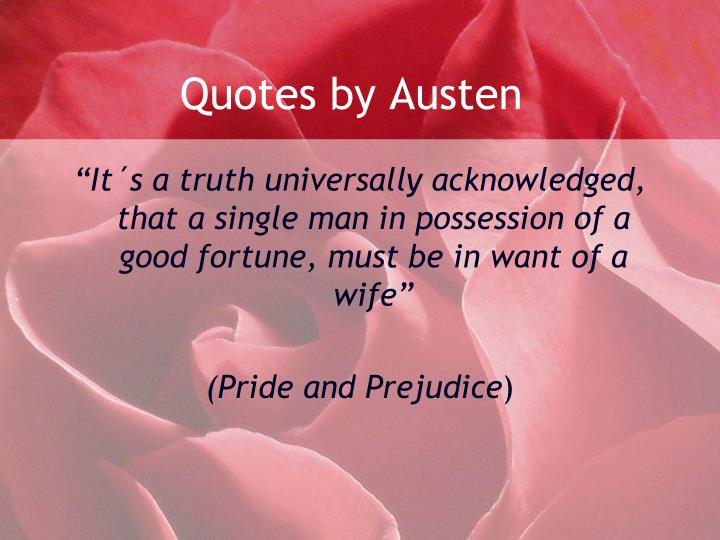 Quotes by Austen