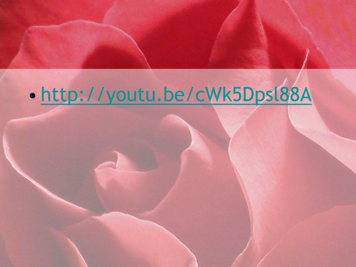http://youtu.be/cWk5Dpsl88A