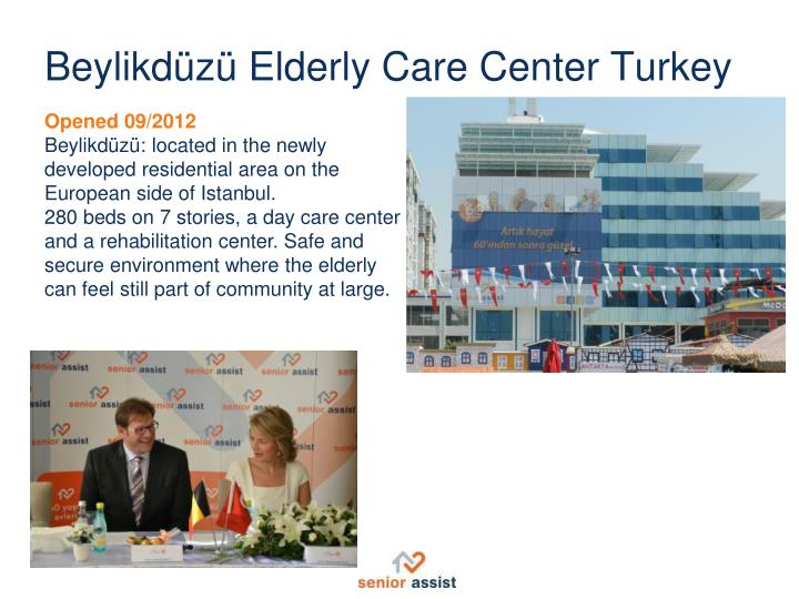 Beylikdüzü Elderly Care Center Turkey