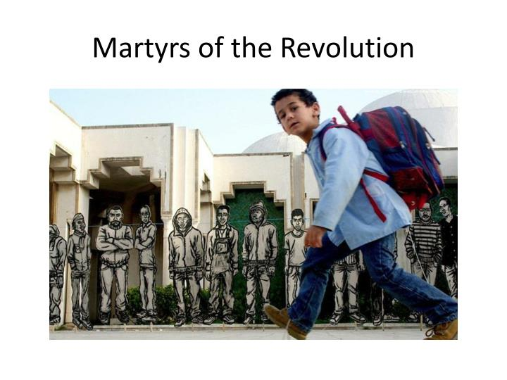 Martyrs of the Revolution