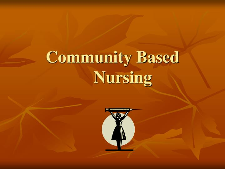 community based nursing n.