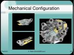 mechanical configuration