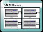 s n all sectors