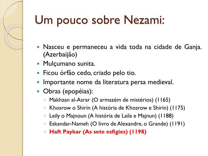 Um pouco sobre nezami