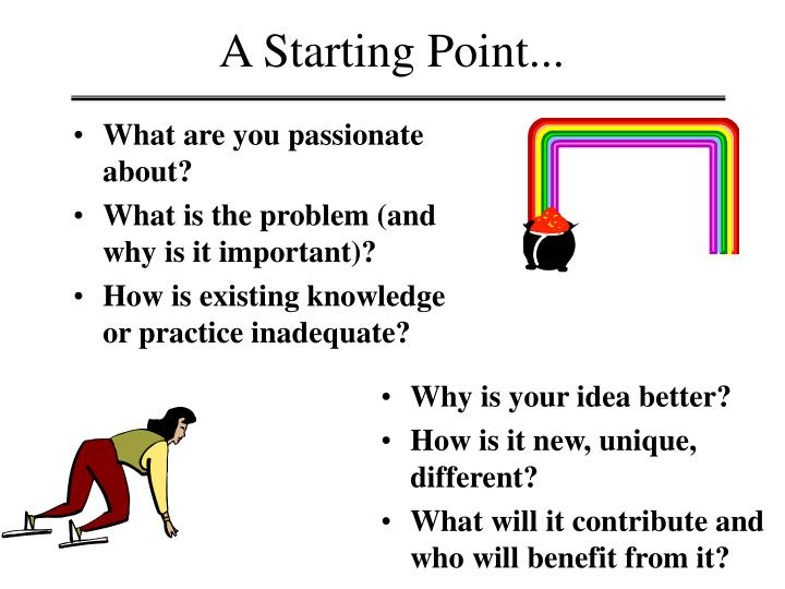 A Starting Point...