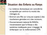 situation des enfants au kenya1