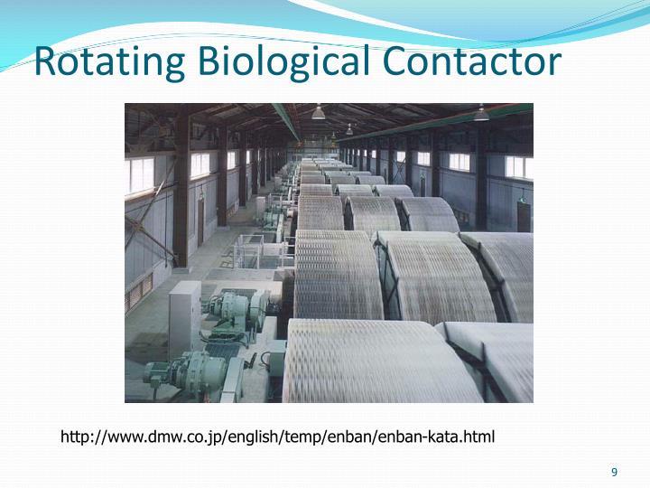 Rotating Biological Contactor