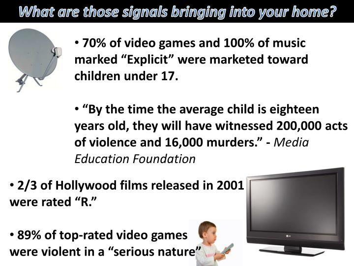 What are those signals bringing into your home?
