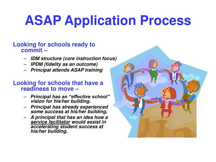 Asap application process1