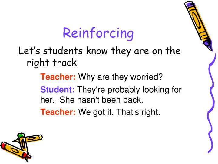 Reinforcing