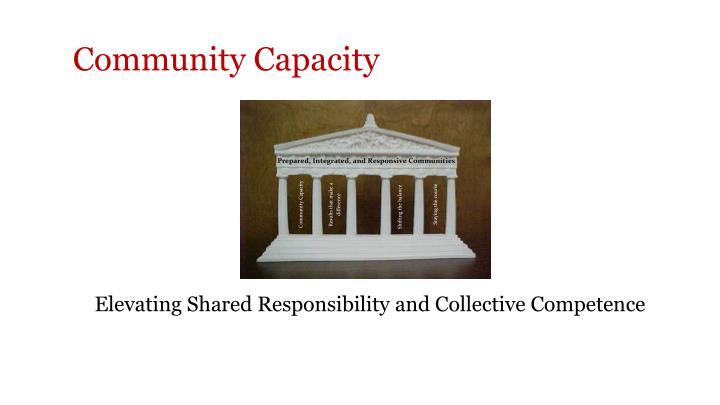 Community Capacity