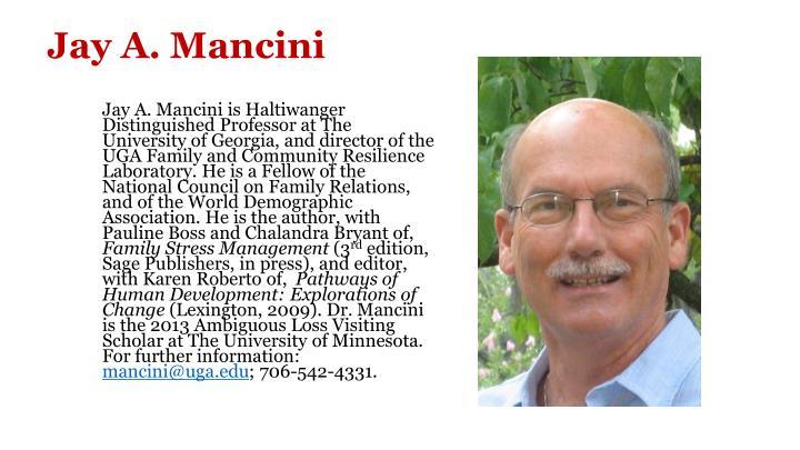 Jay A. Mancini