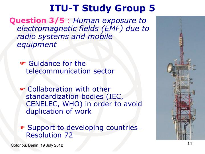 ITU-T Study Group 5