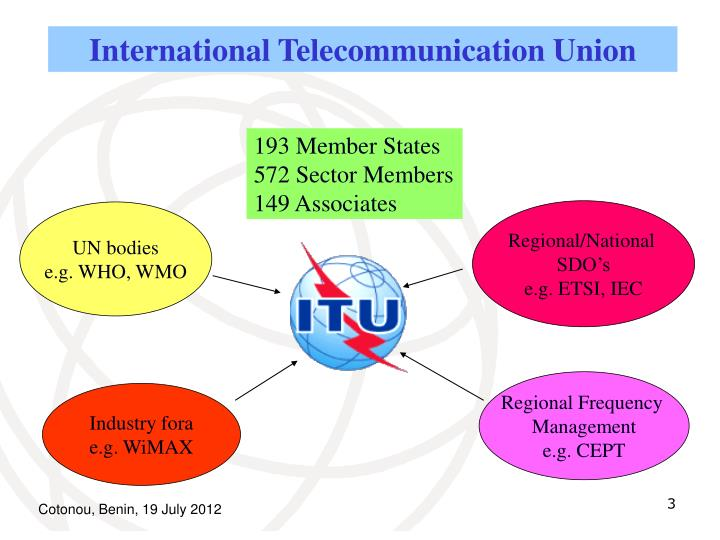 International Telecommunication Union