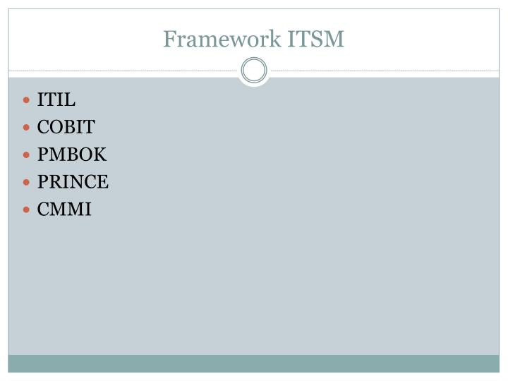 Framework ITSM