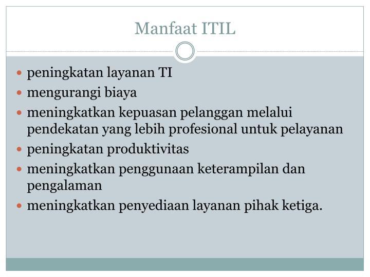Manfaat ITIL