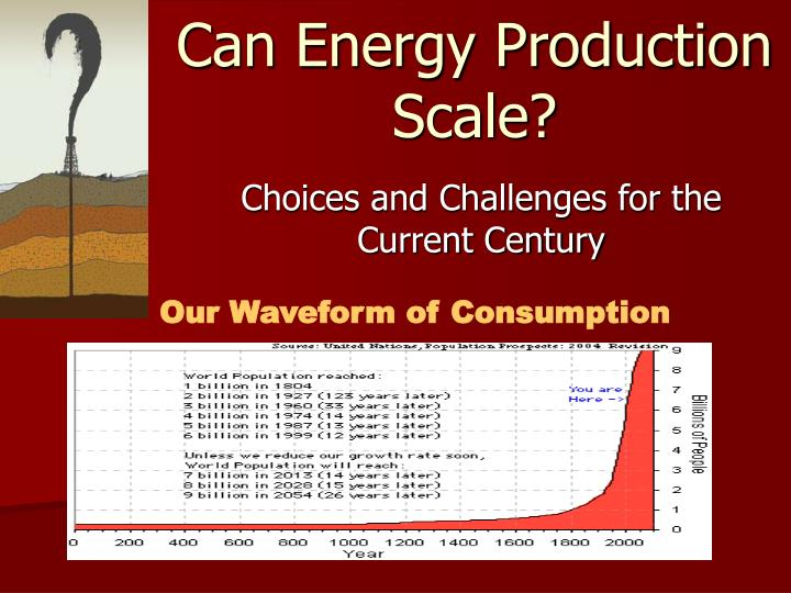 can energy production scale n.