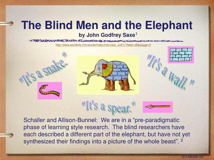 the blind men and the elephant - 720×540