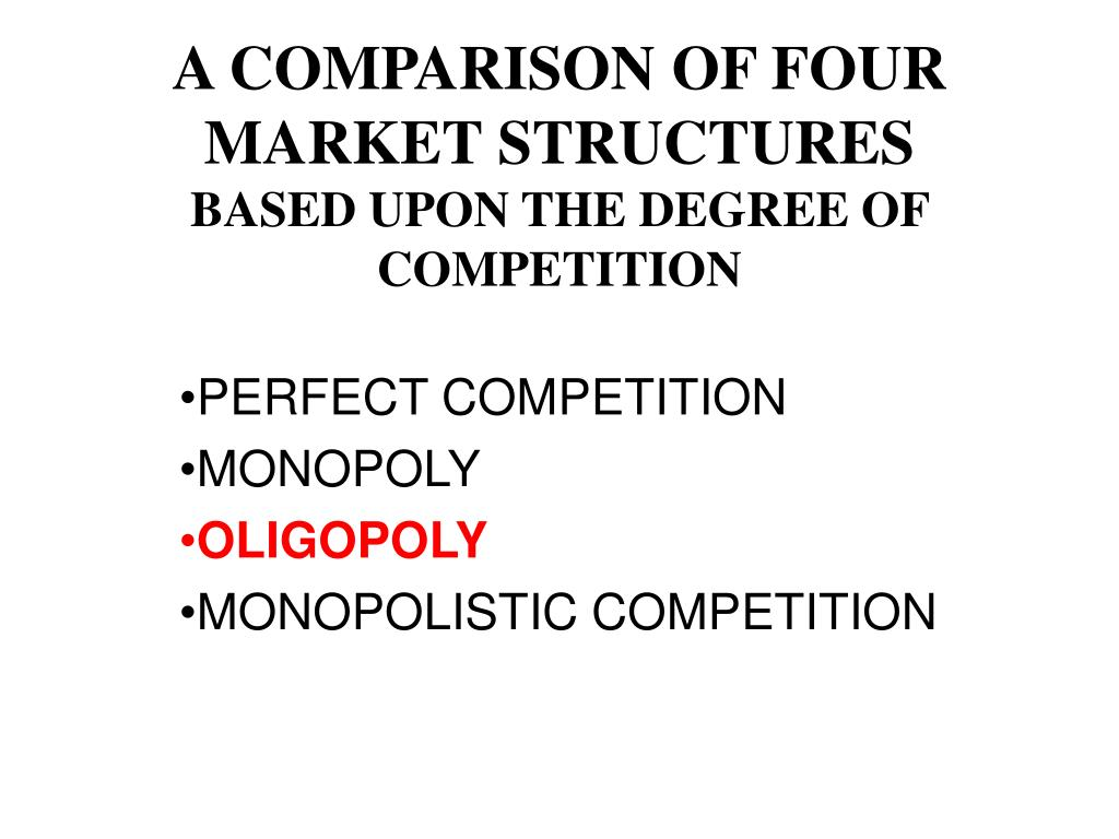 similarities between monopolistic competition and oligopoly
