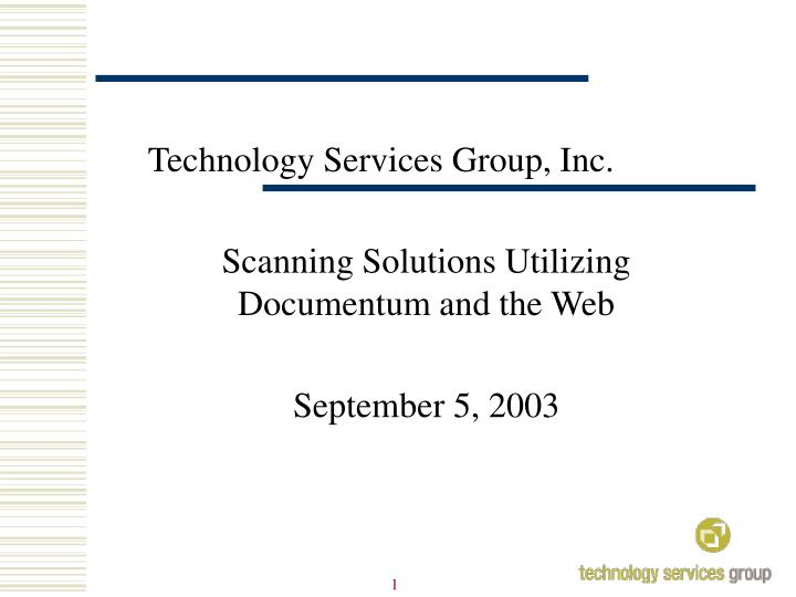 technology services group inc n.