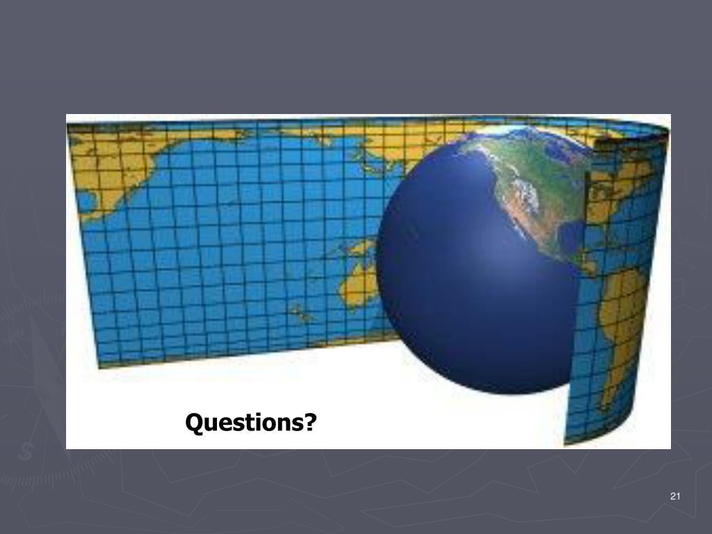 PPT - Datum & Projection Workshop PowerPoint Presentation