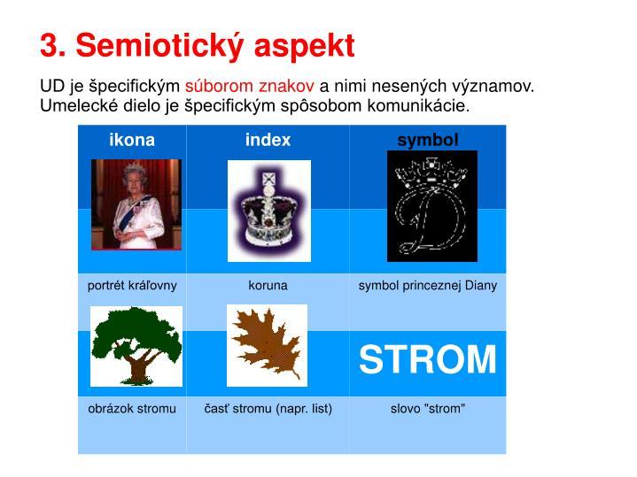 3. Semiotický aspekt