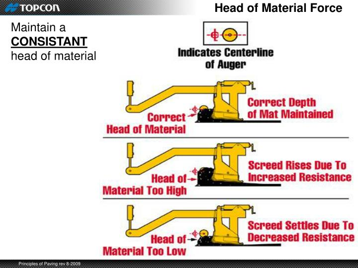 Head of Material Force