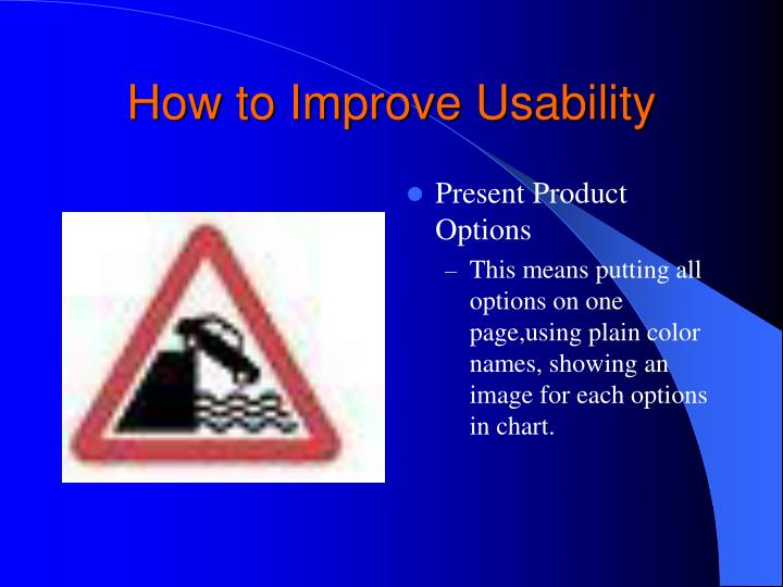 How to Improve Usability