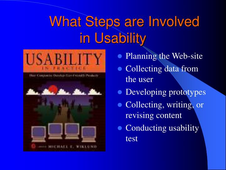 What Steps are Involved in Usability