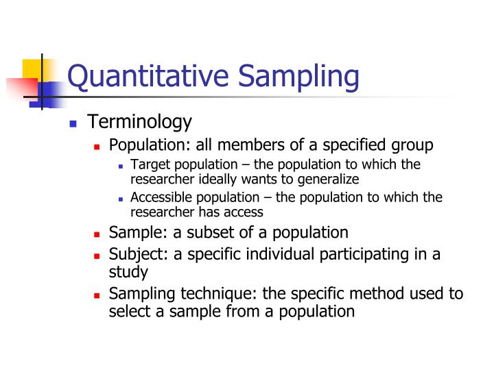 sampling quantitative research Choose an appropriate significance level (alpha value) an alpha value of p = 05 is commonly used this means that the probability that the results found are due to chance alone is 05, or 5%, and 95% of the time a difference found between the control group and the experimental group will be statistically significant and due to the manipulation or treatment.